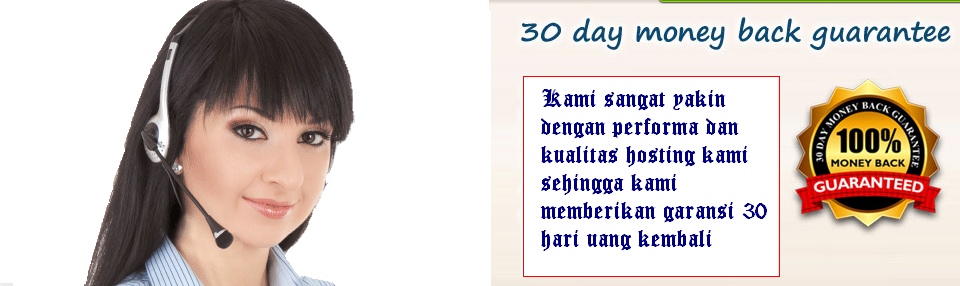 Garansi 30 Hari Uang Kembali